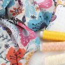 Impresión digital textil en tela muselina