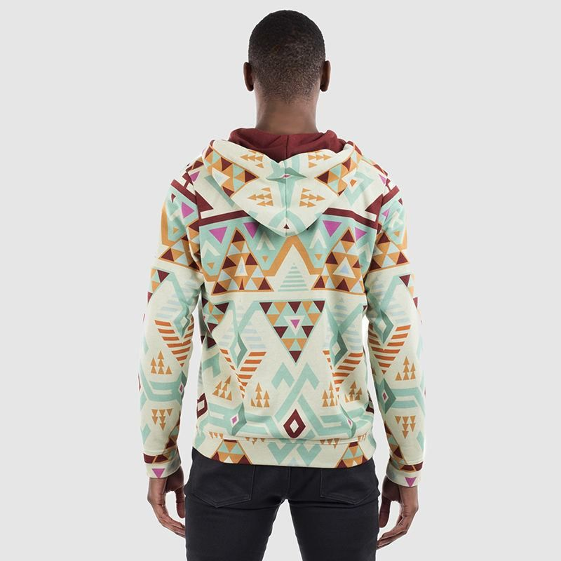 Customizable hoodie back