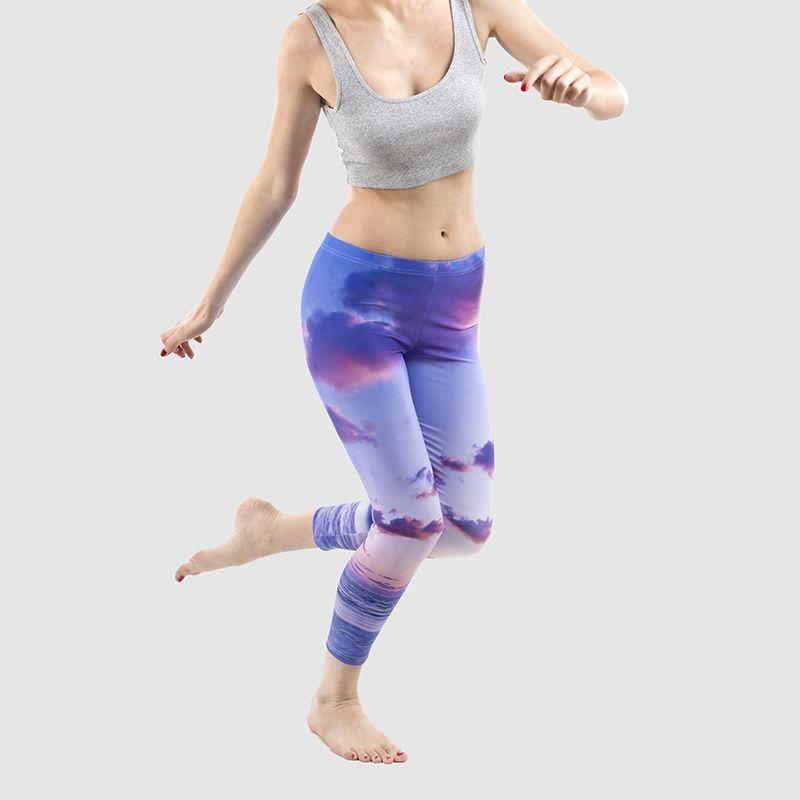 d276a55ea7 Custom Printed Leggings. Design Personalised Leggings Online