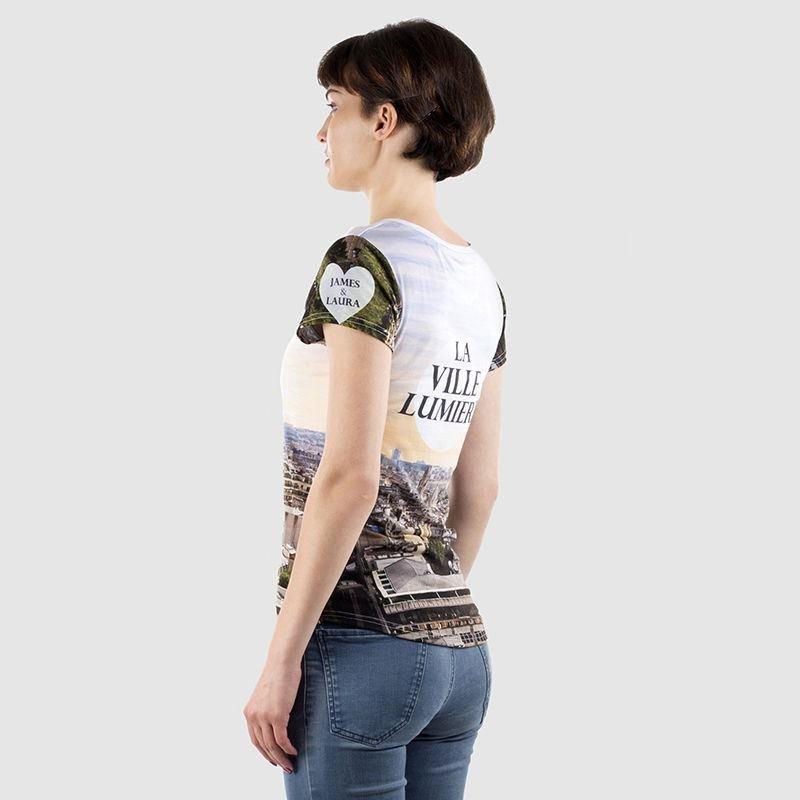 Personnaliser un t-shirt femme