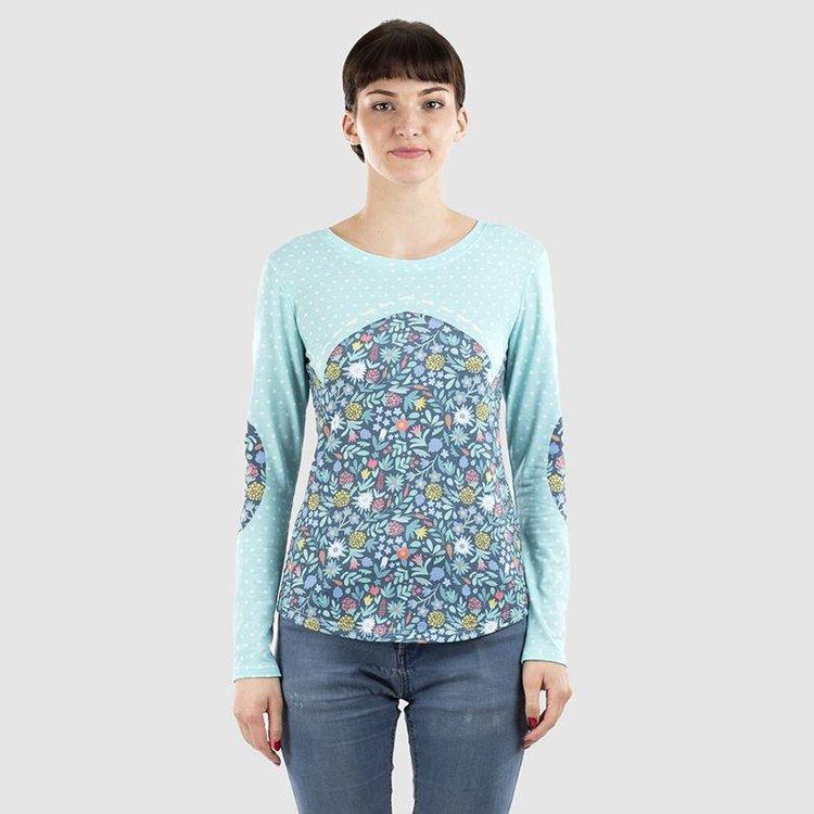 Maglietta manica lunga da donna personalizzata