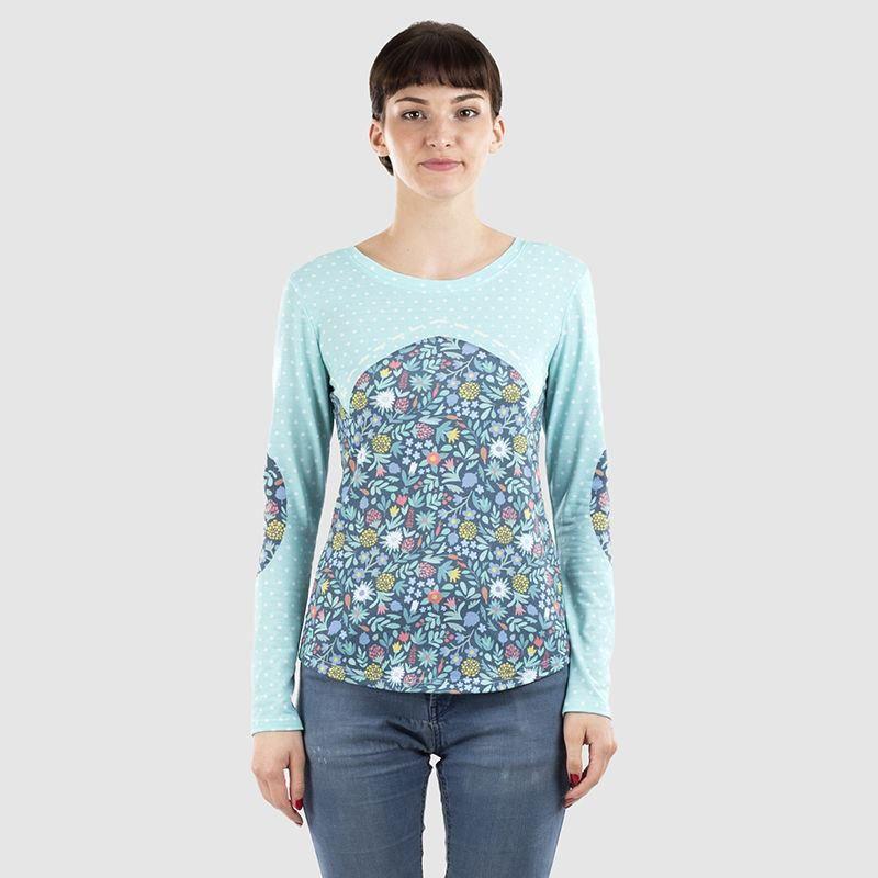 T shirt manche longue personnalisé femme
