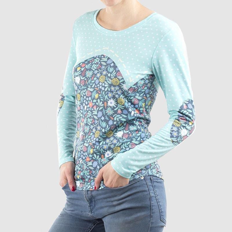 Camisetas manga larga mujer online