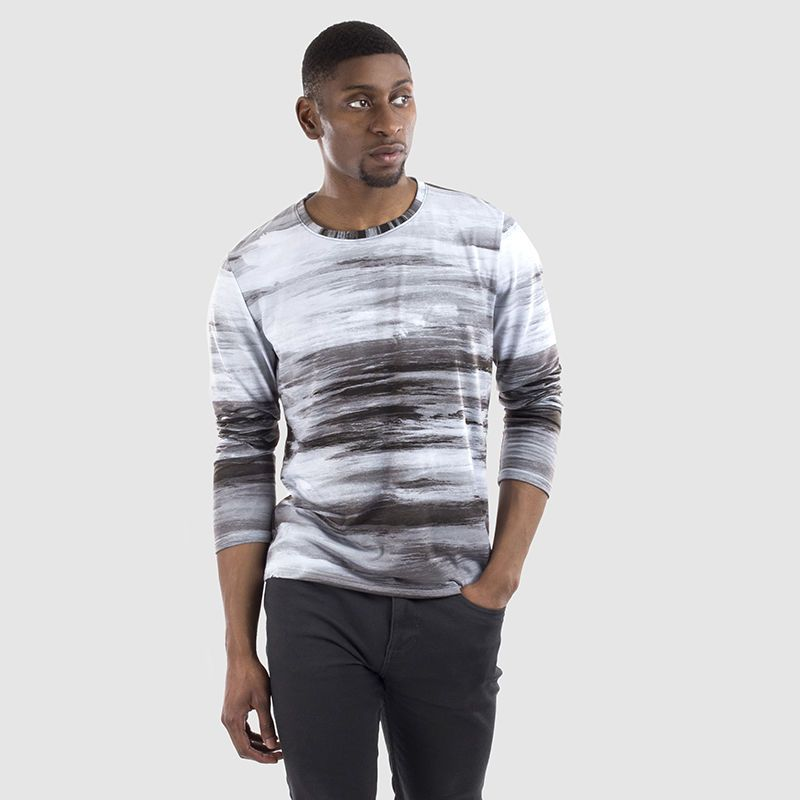 T-shirt pour homme personnalisé avec photo