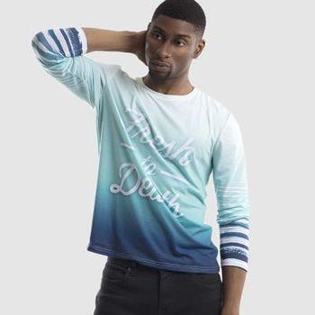 camisetas manga larga personalizadas de hombre