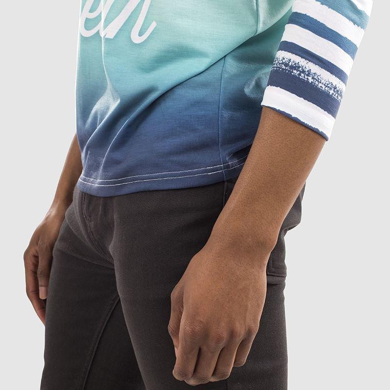make your own custom long sleeve tee shirt