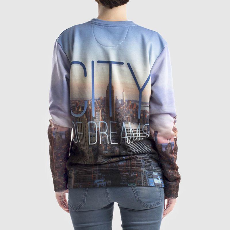 achterkant sweater bedrukken