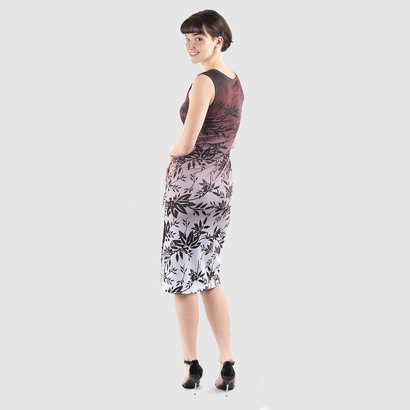etui-kleid mit eigenem design