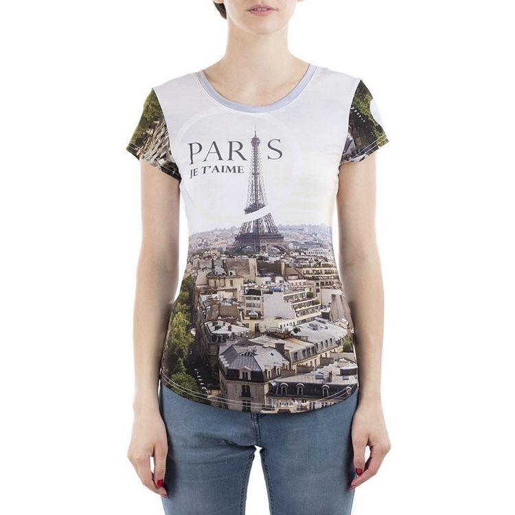 Ladies personalised photo print t shirt