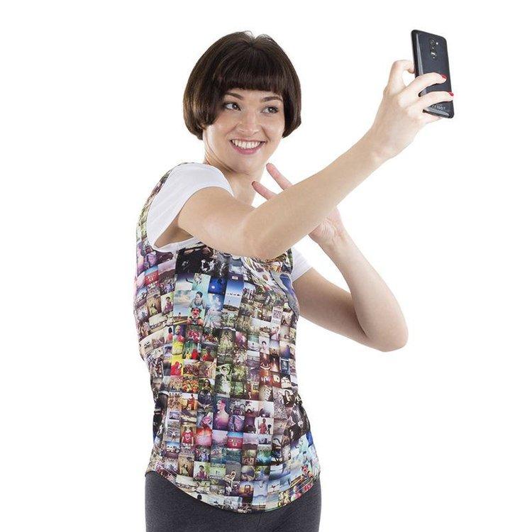 Women's Cut & Sew Personalised T Shirt