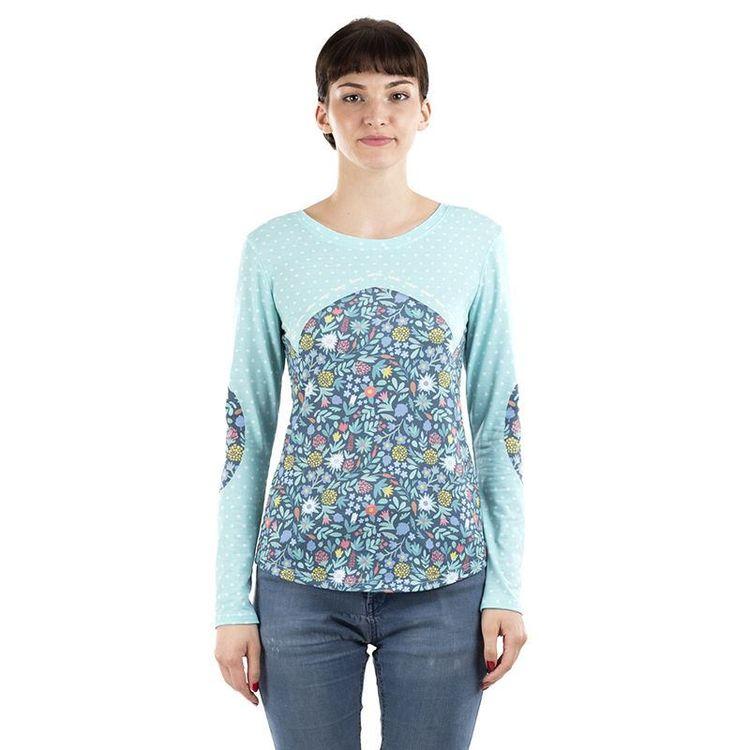 Designa egen t-shirt dam med långa ärmar