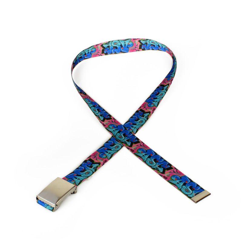 custom printed belts