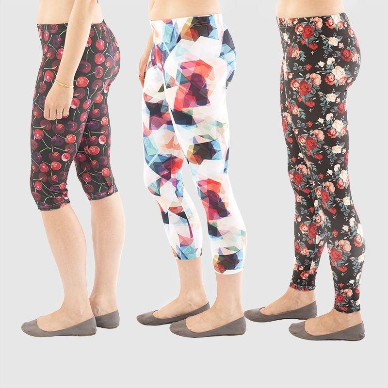 Length comparisons custom leggings