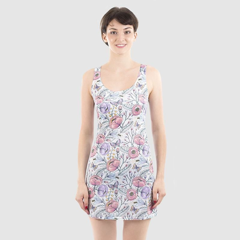Custom Chemise Design Your Own Printed Chemise Dress
