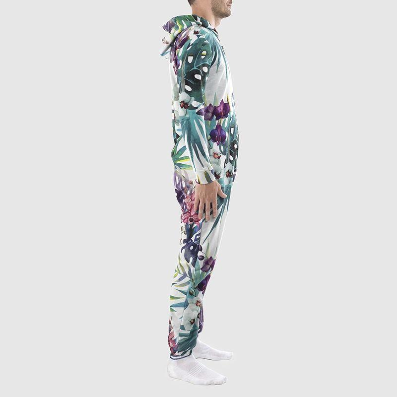 Cut and Sew Designer Onesie printed