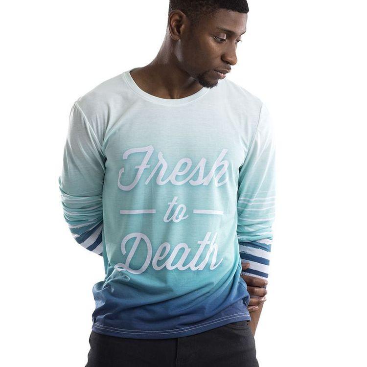 Camisetas manga larga personalizadas
