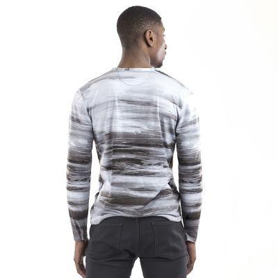 camiseta manga larga de hombre