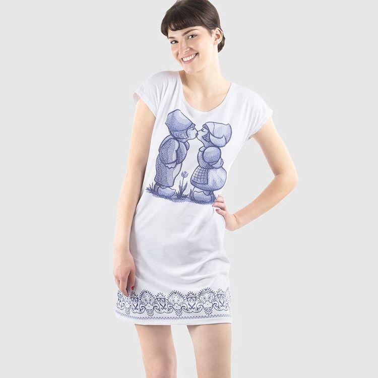 T shirt kleid für Damen selbst gestalten