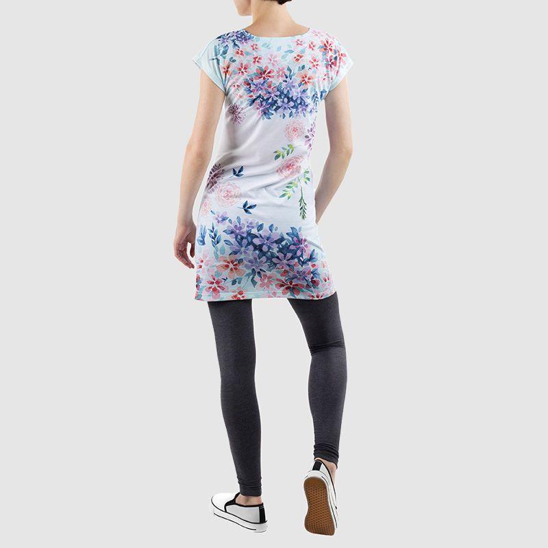 plussize t shirt jurk bedrukken