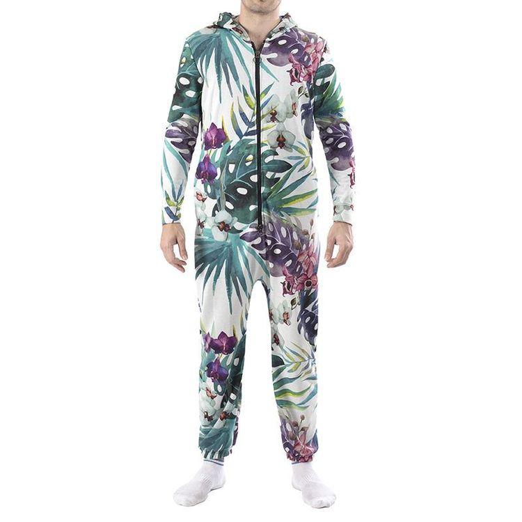 Personlig jumpsuit med tryck över hela ytan