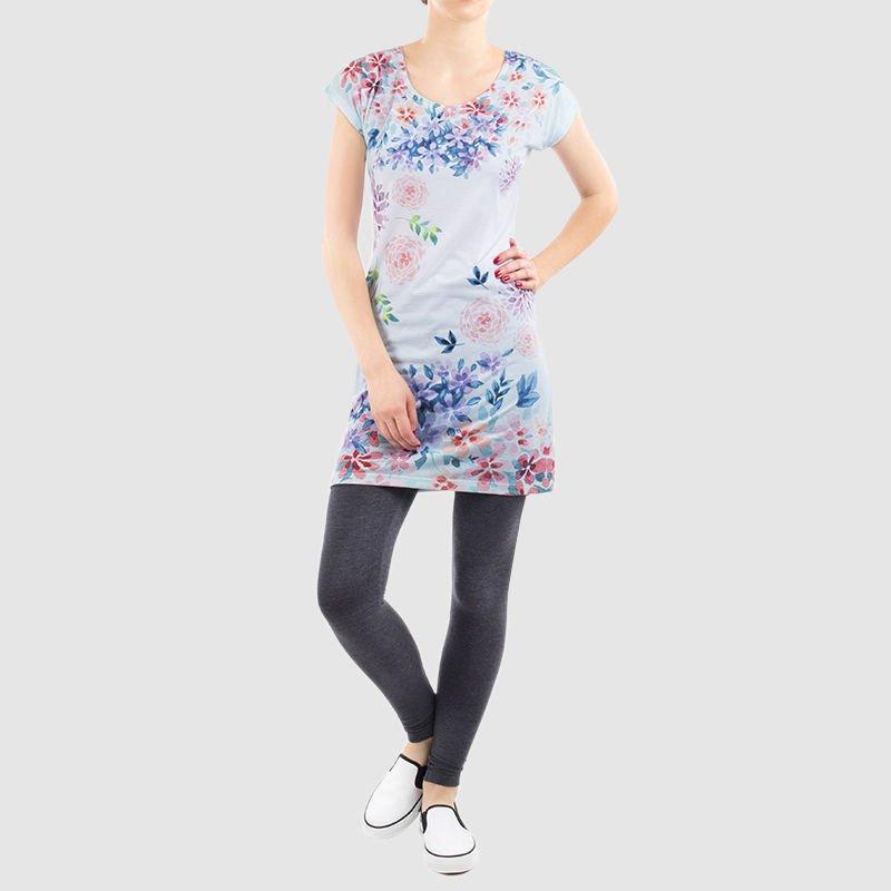 custom t-shirt dress
