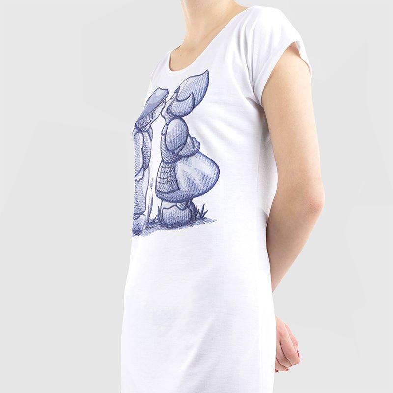 t shirt jurk bedrukken met jouw ontwerp