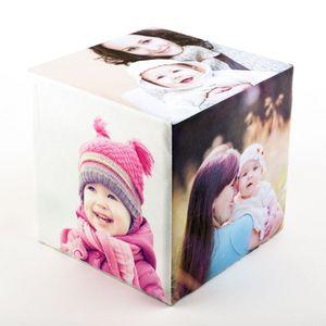 cubo de fotos original para regalar