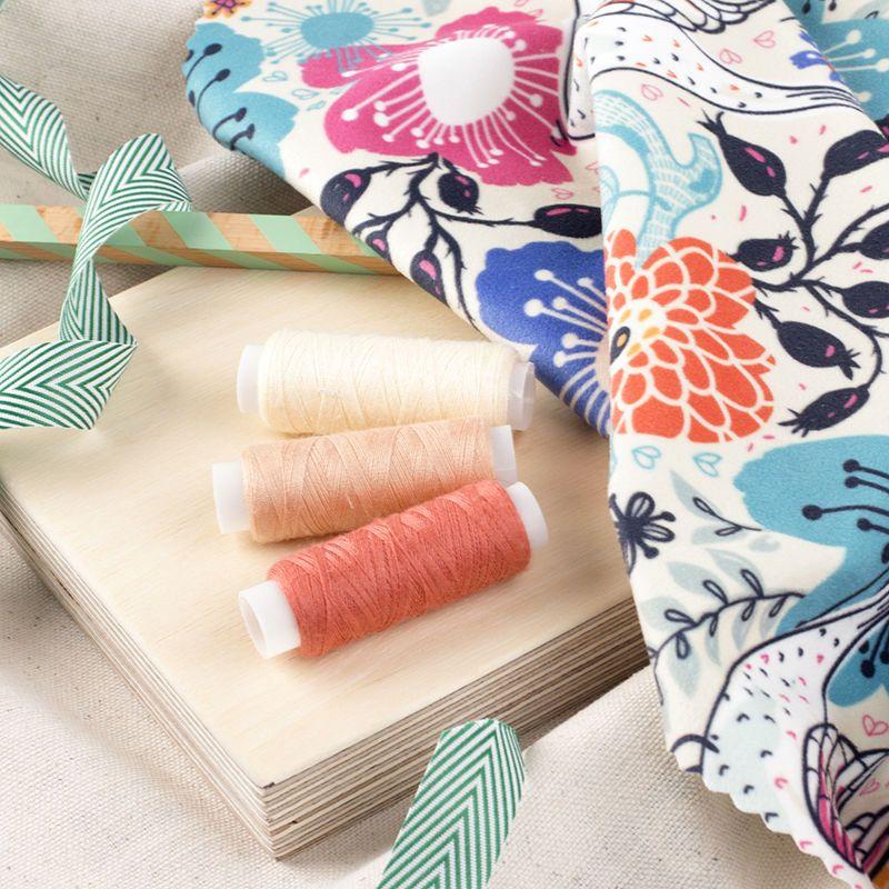 soft velvet fabric swatch pack example