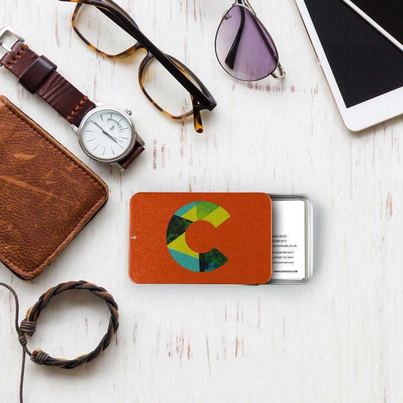 Porte-carte de visite design avec votre logo