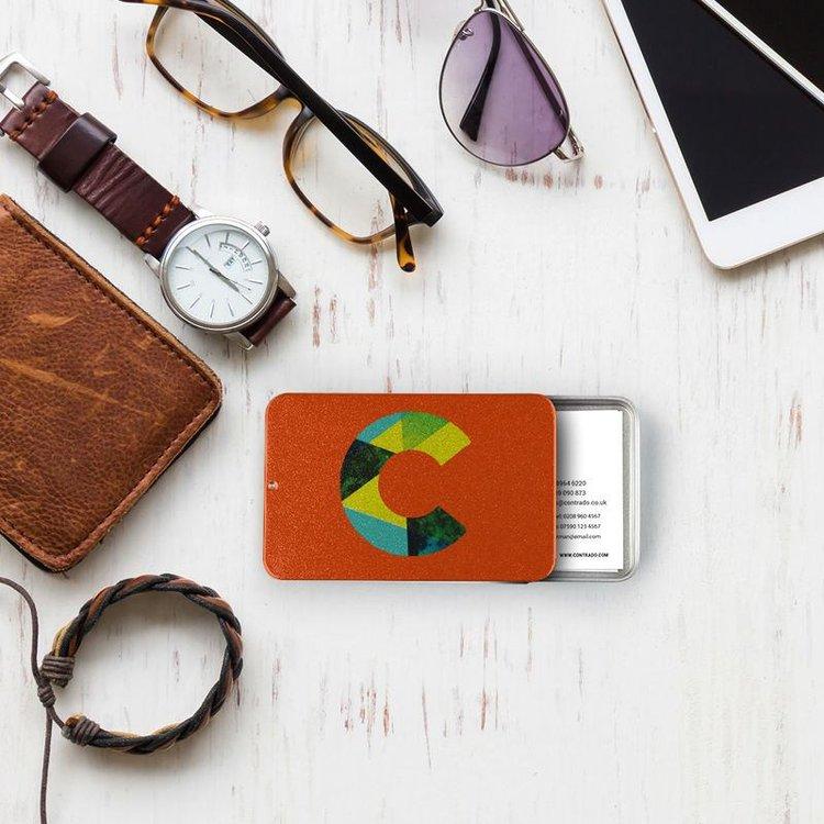 Porte cartes de visite personnalisé