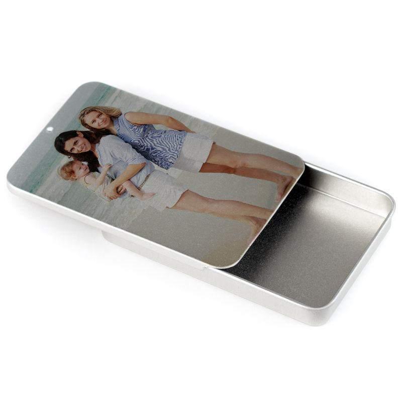 business card box custom photo - Custom Business Card Holder