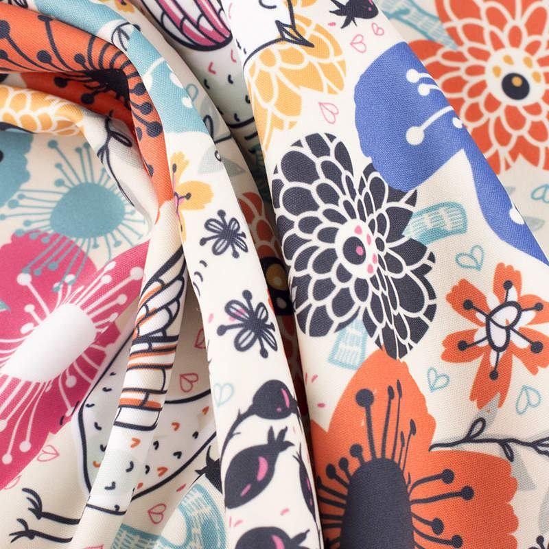 digital softshell fabric printing