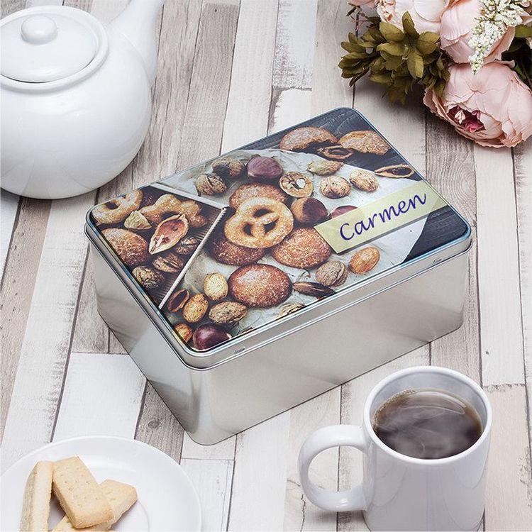 Caja de galletas personalizada