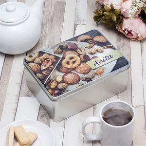 persoonalised biscuit tins