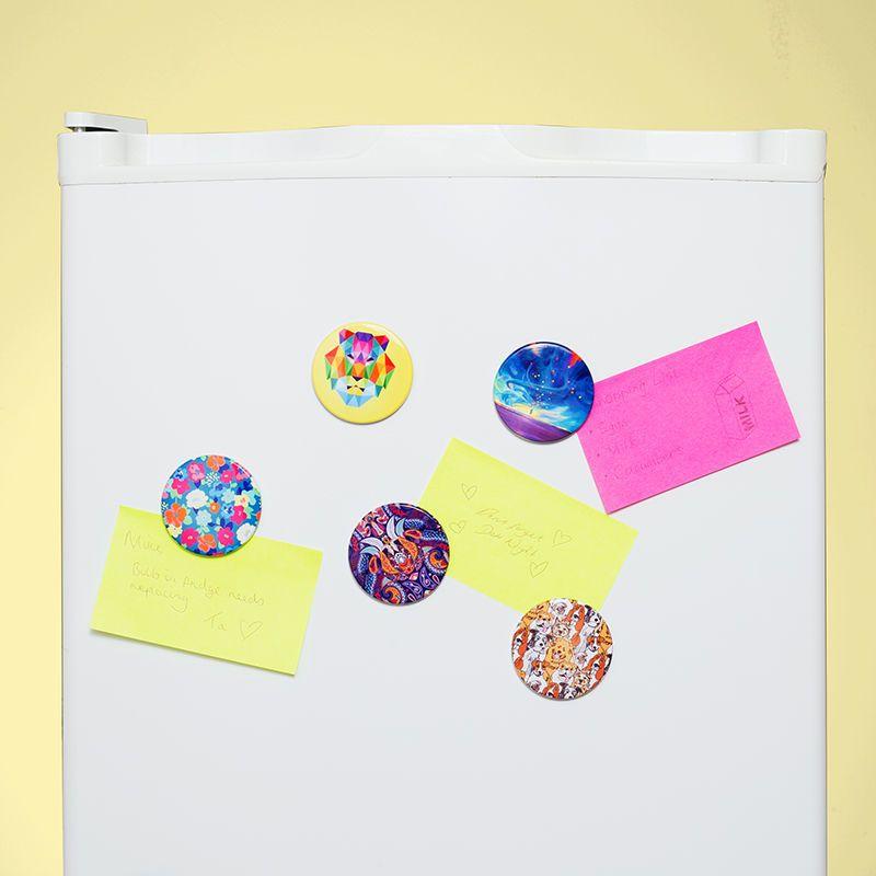 kühlschrankmagnete selbst gestalten mit eigenen designs