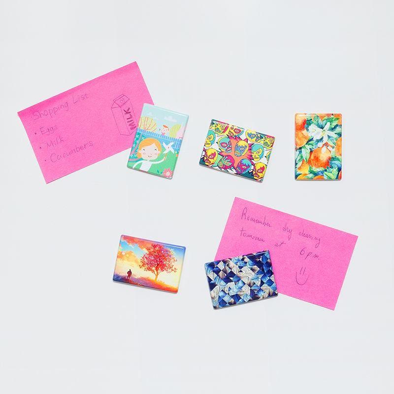 custom fridge magnets for notes and memos