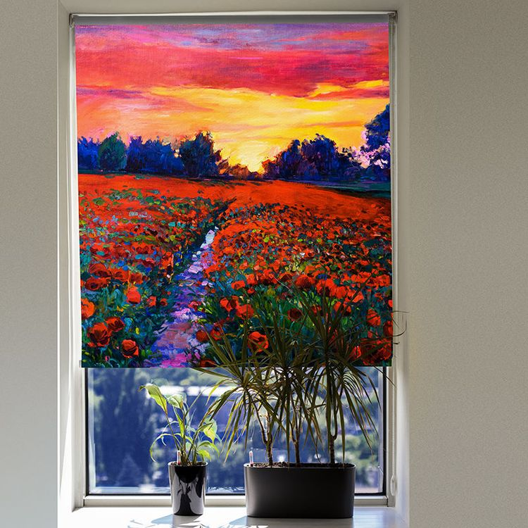 photo blinds blackout fabric