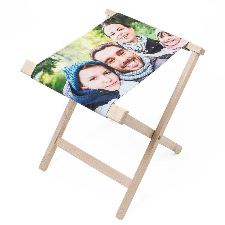 tabouret personnalisable avec photo et texte id e cadeau photo. Black Bedroom Furniture Sets. Home Design Ideas