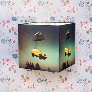 lámparas cuadradas
