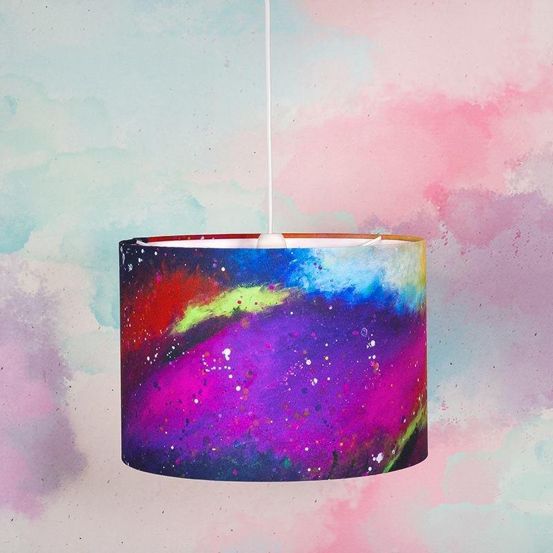 custom made lamp shades printed with photos