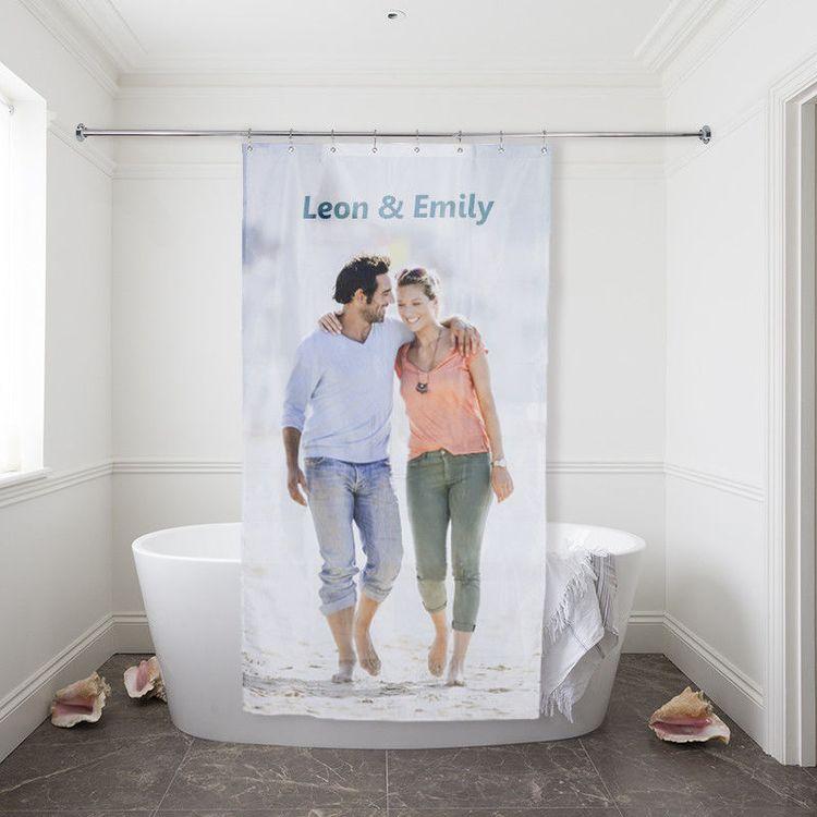 Foto Duschvorhang bedrucken lassen