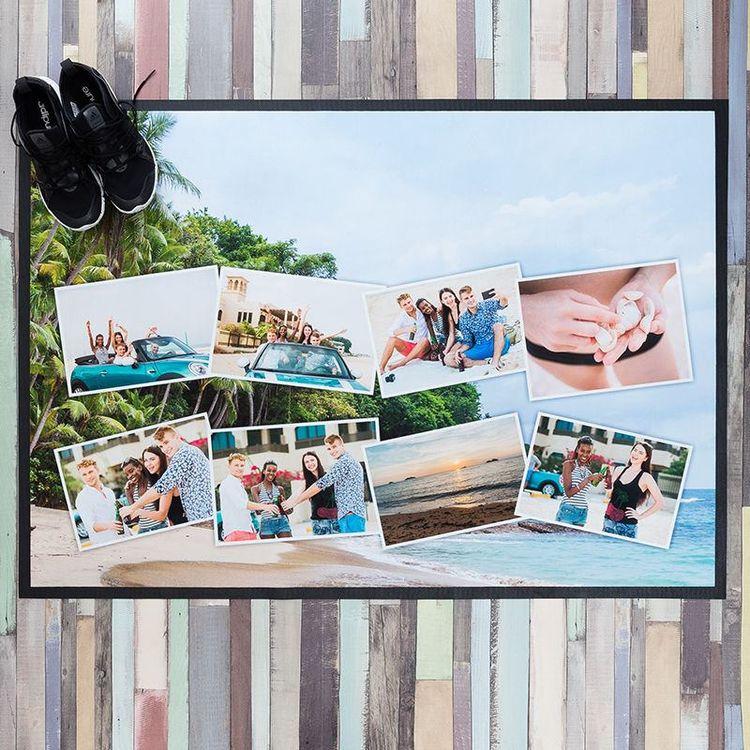 foto collage deurmat