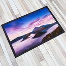 Paillasson imprimé avec photo de paysage