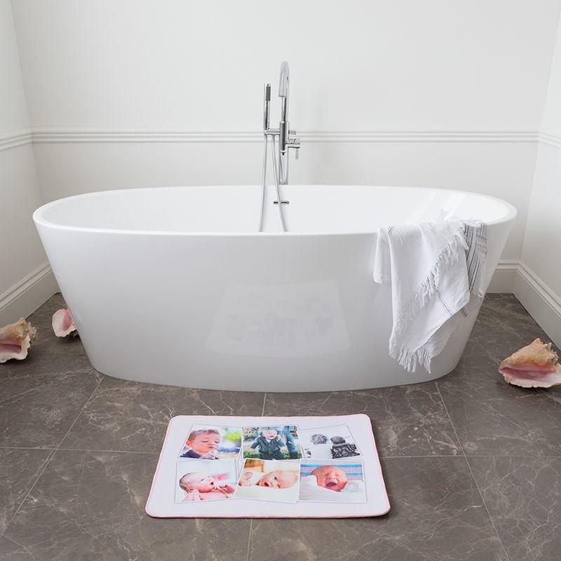 Badteppich selbst gestalten. Duschvorleger selbst gestalten
