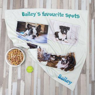 Mantas personalizadas para mascotas
