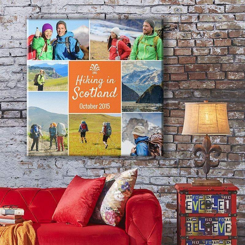 Stampa su tela fotografica le tue foto preferite garanzia a vita - Fotoleinwand erstellen collage ...