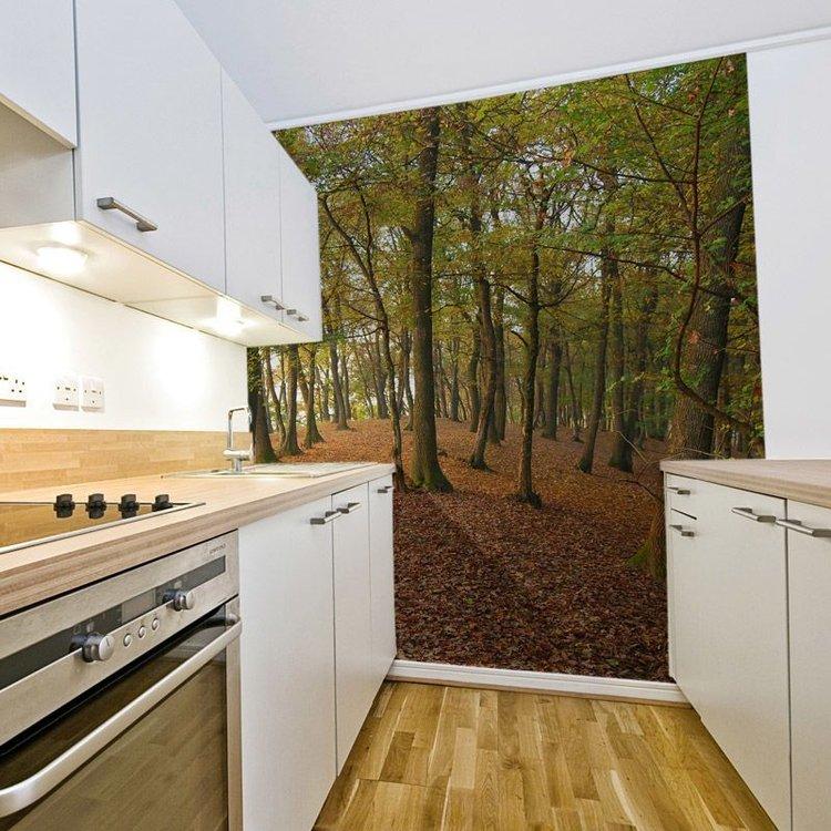 Kitchen Wallpaper. Design Unusual Kitchen Wallpaper
