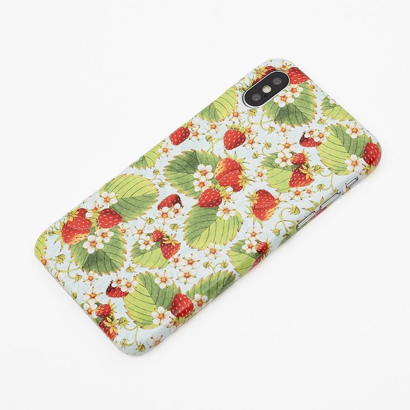 Strawberry pattern Print iPhone Case