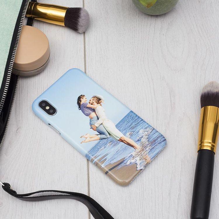 Coque iPhone X avec photo couple