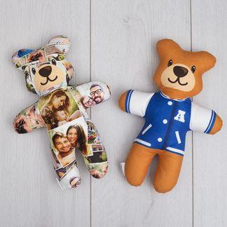 personlig nallebjörn med egna foton